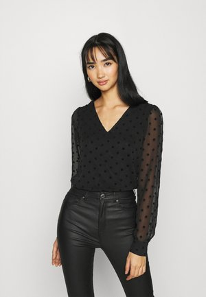 ONLJESS PUFF - Long sleeved top - black