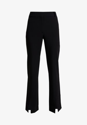 MARION TROUSERS - Trousers - black