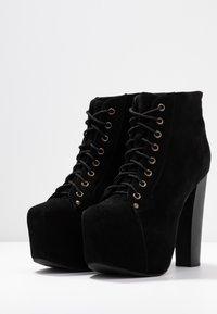 Jeffrey Campbell - LITA - Kotníková obuv na vysokém podpatku - black - 4