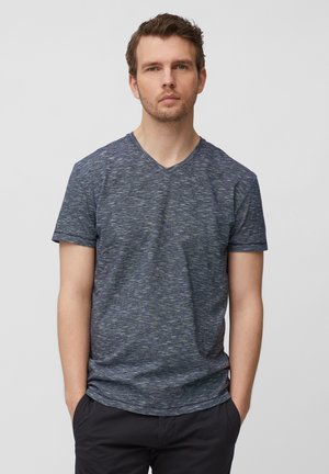 Basic T-shirt - multi/black