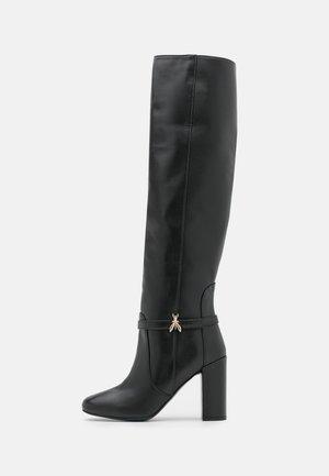 EXCLUSIVE BOOT - Overknee laarzen - nero