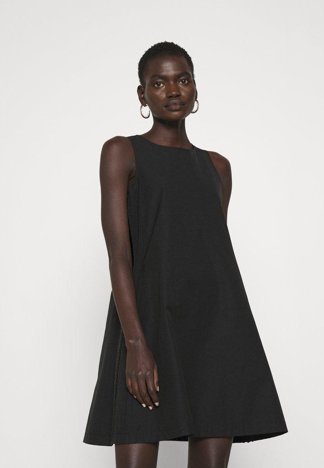 PUGNO - Korte jurk - black