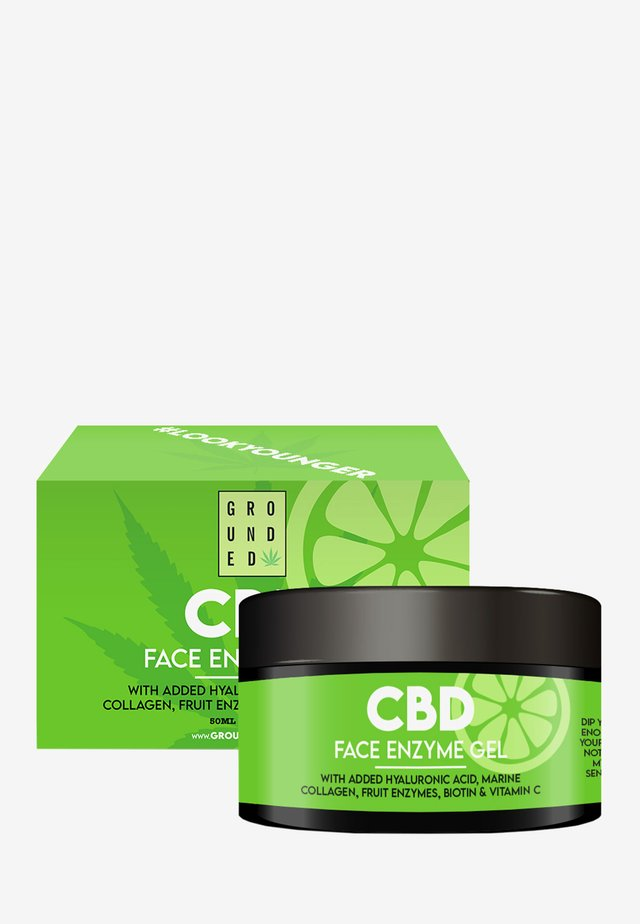 CBD ENZYME GEL MASK - ANTI AGEING - Anti-Aging - black