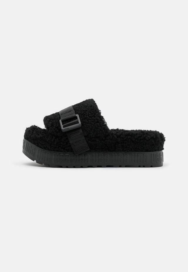 FLUFFITA - Pantofole - black