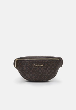 WAISTBAG MONOGRAM - Bum bag - brown