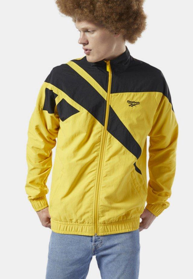 CLASSICS VECTOR TRACK JACKET - Training jacket - yellow