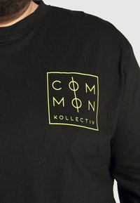 Common Kollectiv - ZONE LONGSLEEVE - Long sleeved top - black - 5