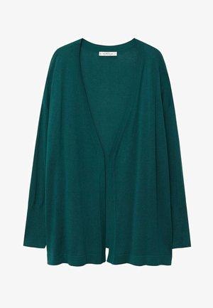 AGORA - Cardigan - tmavě zelená