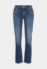 TROUSER MID WAIST - Straight leg jeans - blue denim