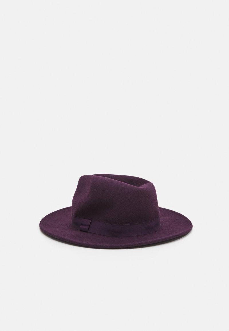 Topman - FEDORA - Hat - plum