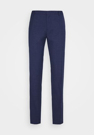 SLIM FIT SEPARATE PANT - Suit trousers - blue
