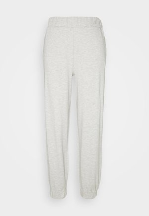 EMILIE MALOU X  NA-KD SOFT PANTS - Tracksuit bottoms - grey