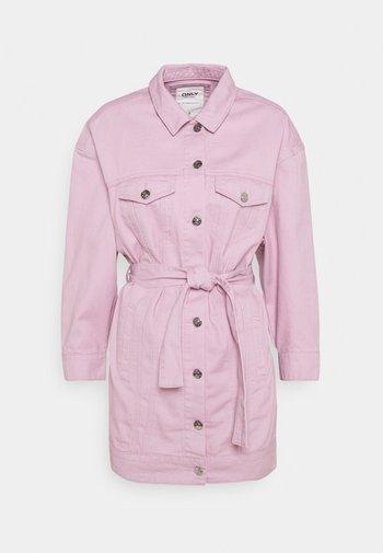 ONLJONES LS PASTEL  - Denim jacket - dawn pink