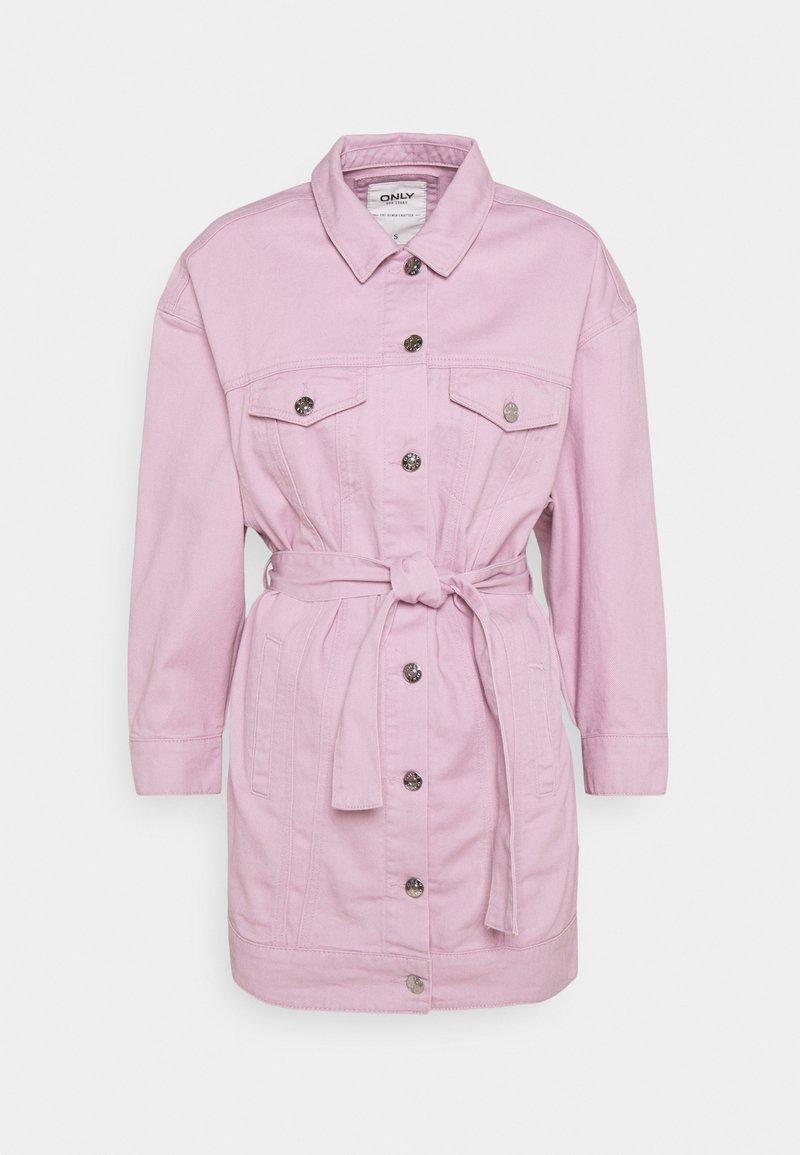 ONLY - ONLJONES LS PASTEL  - Džínová bunda - dawn pink