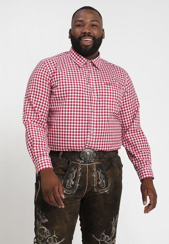 RUFUS BIG NEW - Shirt - dunkelrot