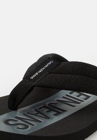 Calvin Klein Jeans - BEACH - T-bar sandals - black - 5