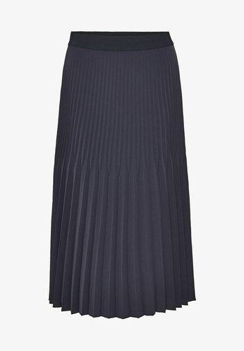RINITA ROS - Pleated skirt - blau