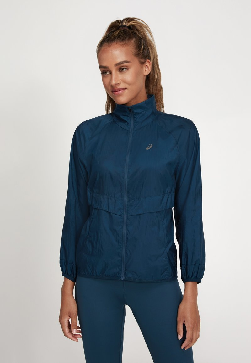 ASICS - NEW STRONG - Sports jacket - magnetic blue