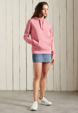 BOHEMIAN CRAFTED  - Hoodie - dusty rose