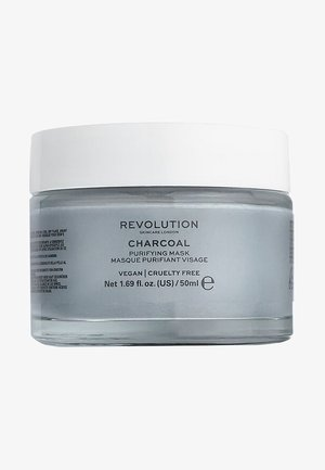CHARCOAL PURIFYING MASK - Face mask - -