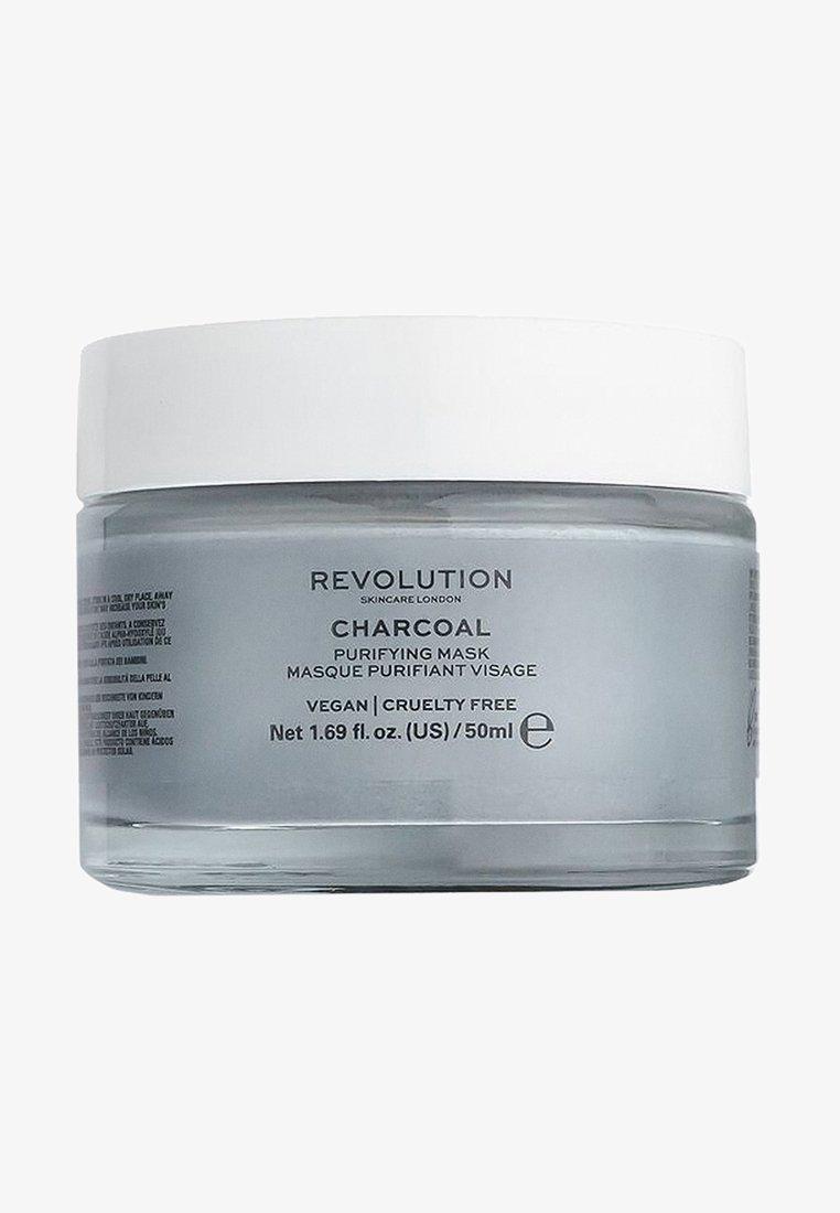 Revolution Skincare - CHARCOAL PURIFYING MASK - Gesichtsmaske - -