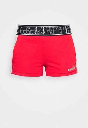 SHORT BE ONE - Pantalón corto de deporte - lively hibiscus red