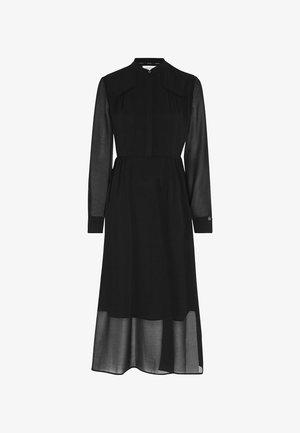 Day dress - black denim