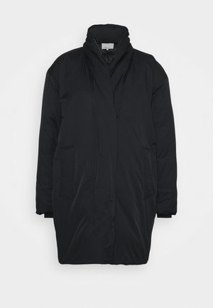 LONG DUVET COAT - Vinterkappa /-rock - black