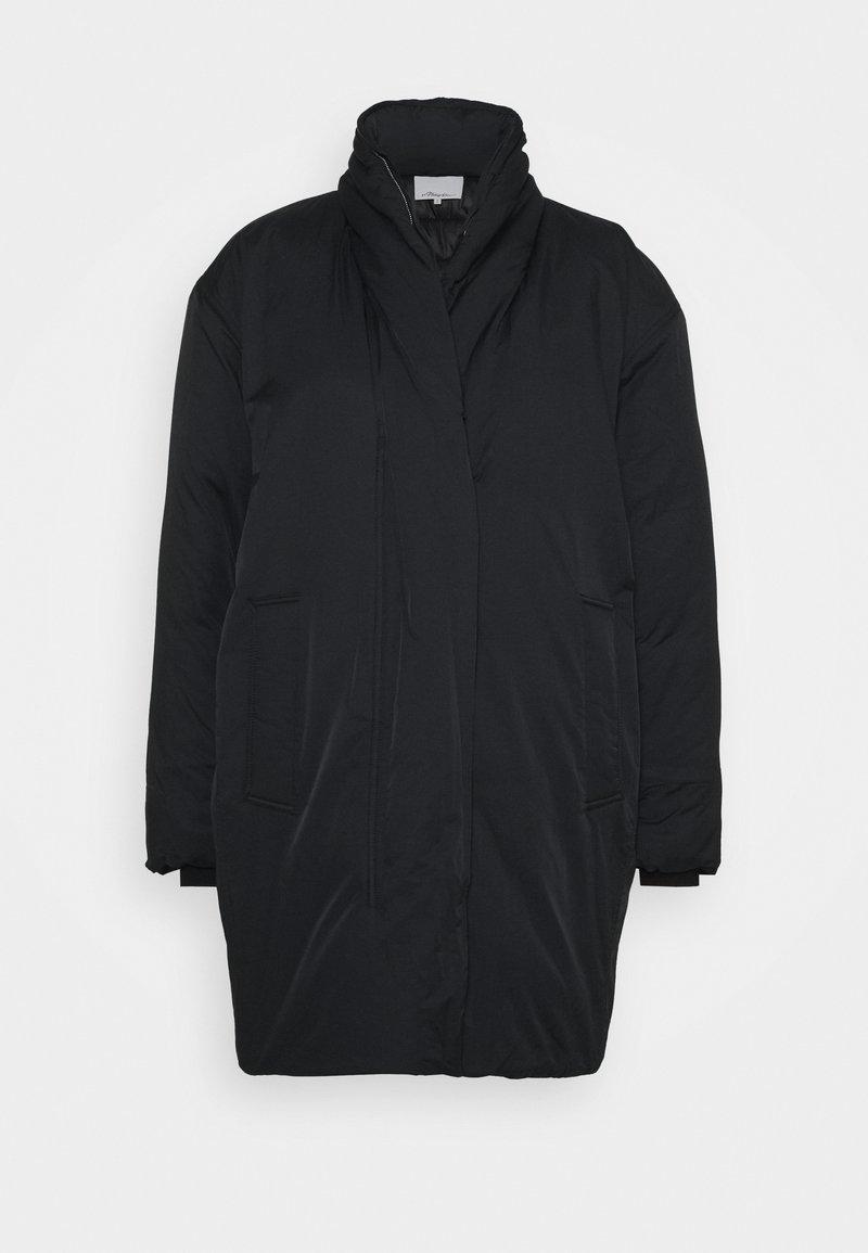 3.1 Phillip Lim - LONG DUVET COAT - Zimní kabát - black
