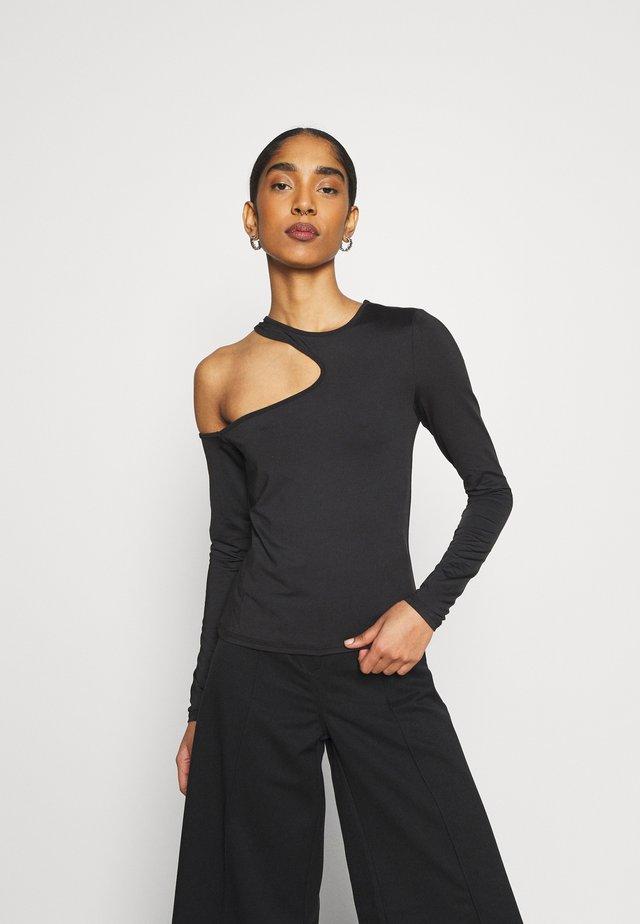 AMBRIA LONG SLEEVE - Maglietta a manica lunga - black