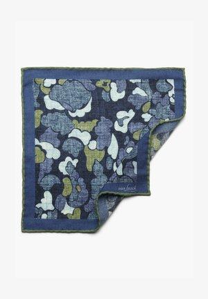 Pocket square - blau-grün