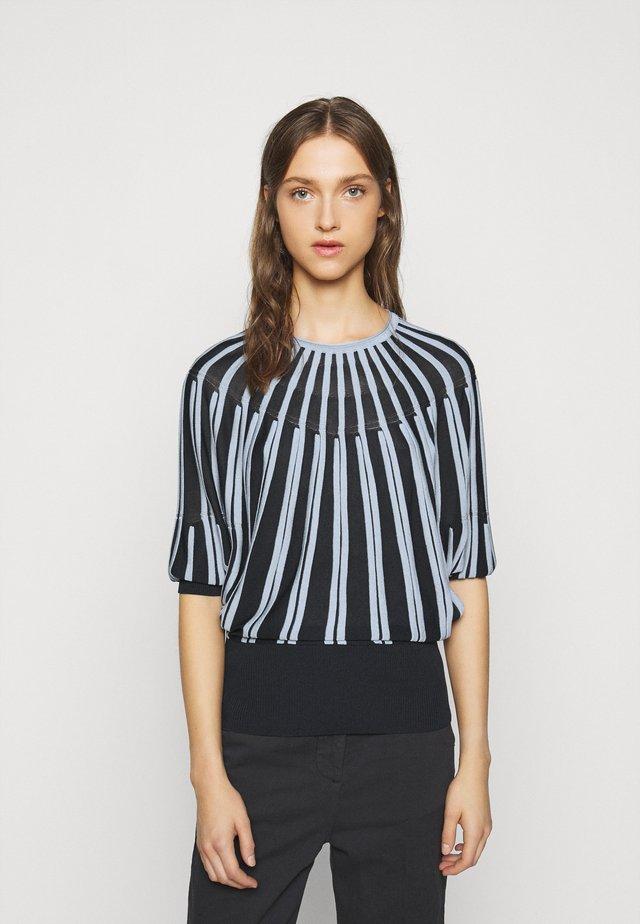 PREGIO - Stickad tröja - navy blue