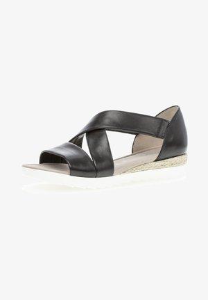 Sandals - schwarz (jute)