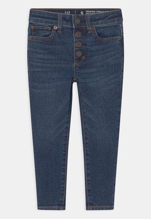 GIRL ANKLE - Jeans Skinny Fit - dark-blue denim