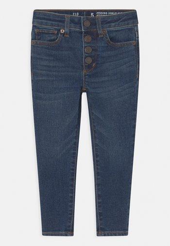GIRL ANKLE - Jeansy Skinny Fit - dark-blue denim
