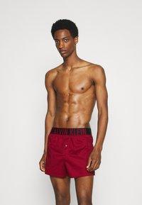 Calvin Klein Underwear - INTENSE POWER 2 PACK - Boxer shorts - grey/red - 2