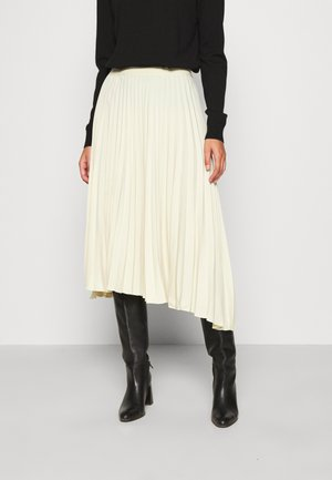 MIDI SKIRTS - A-Linien-Rock - beige dusty light