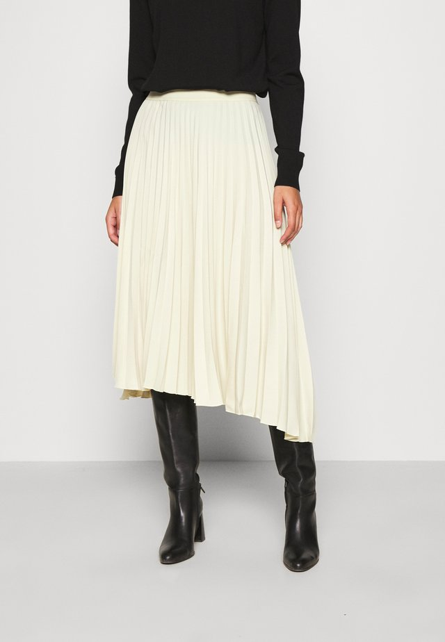 MIDI SKIRTS - A-linjainen hame - beige dusty light