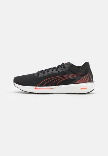 LIBERATE NITRO - Neutral running shoes - black/lava blast