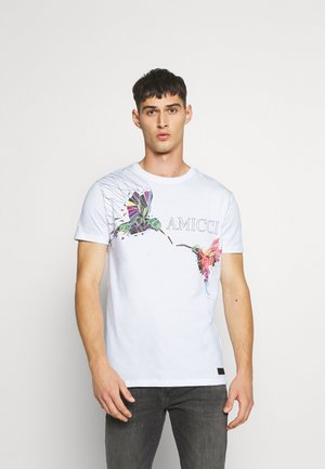 FERRARA - Print T-shirt - off white