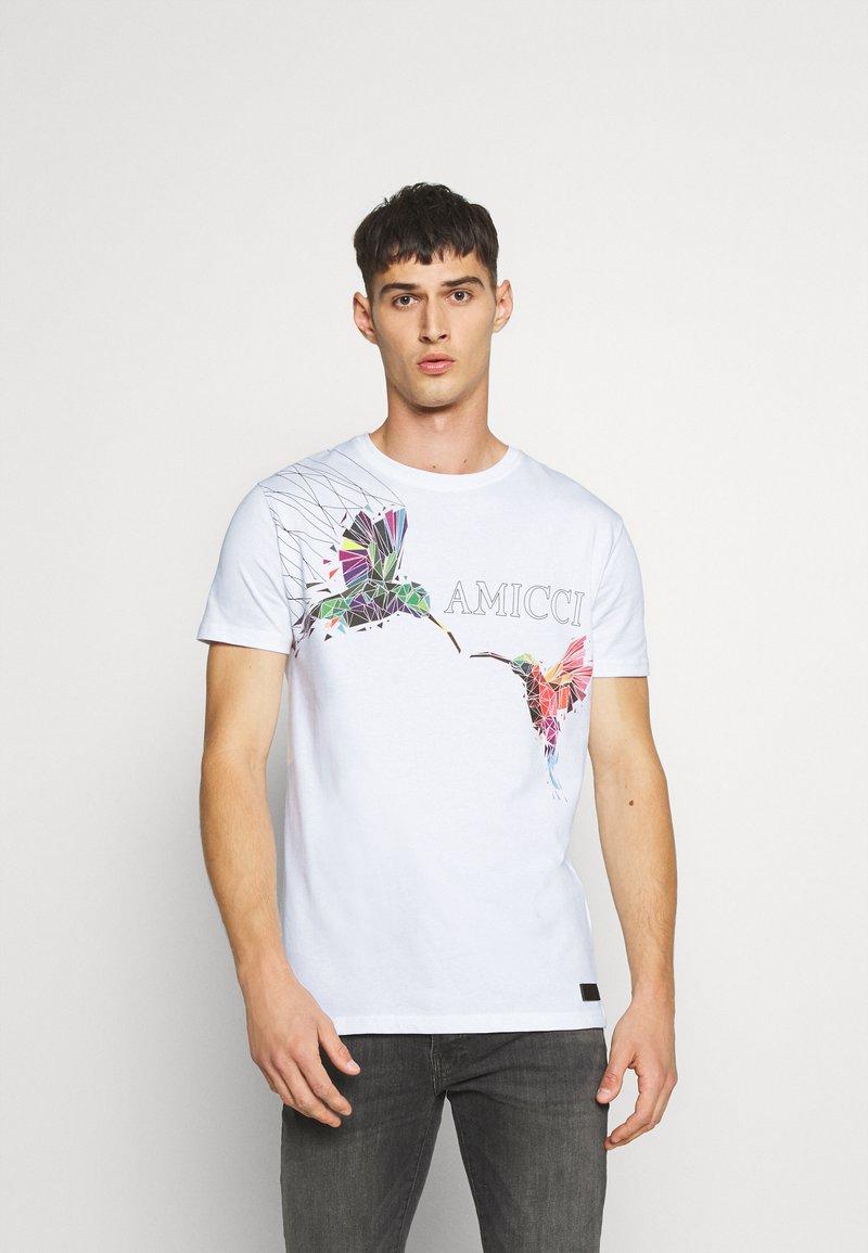 AMICCI - FERRARA - Print T-shirt - off white