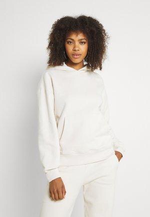 ESSENTIAL FRONT POCKET HOODIE - Sweatshirt - beige