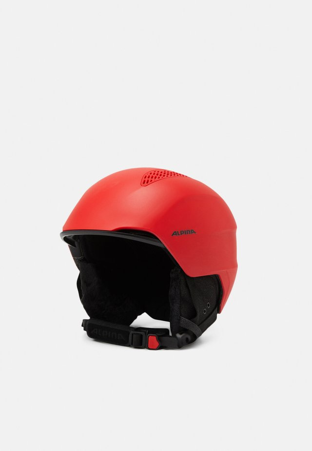 GRAND UNISEX - Casque - red matt