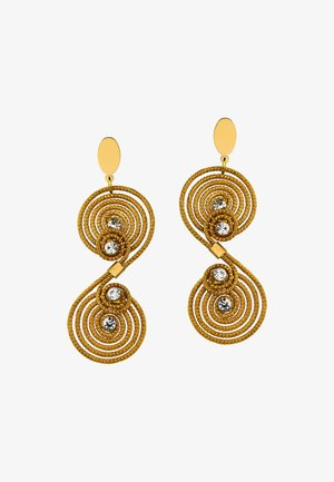 CHRISTA - Earrings - gold-coloured
