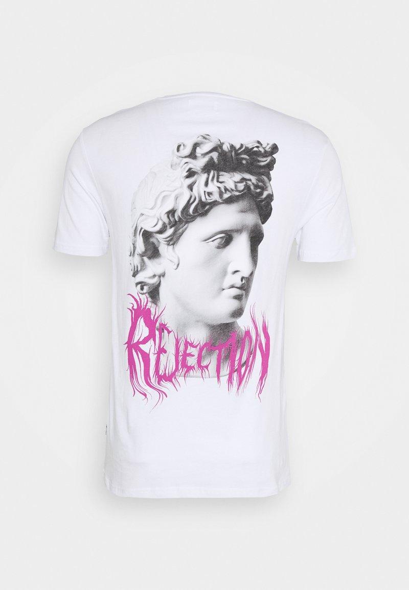 YOURTURN T-Shirt print - white/weiß x72V3O