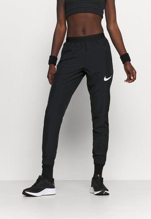 RUN PANT - Verryttelyhousut - black/grey fog/white