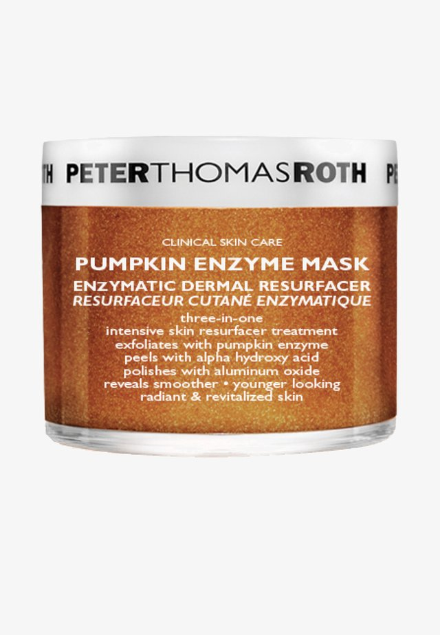 PUMPKIN ENZYME MASK - Face mask - -