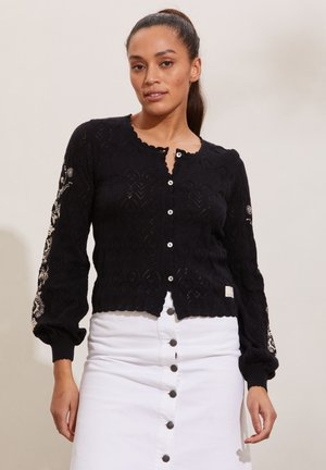 DESTINY - Cardigan - almost black