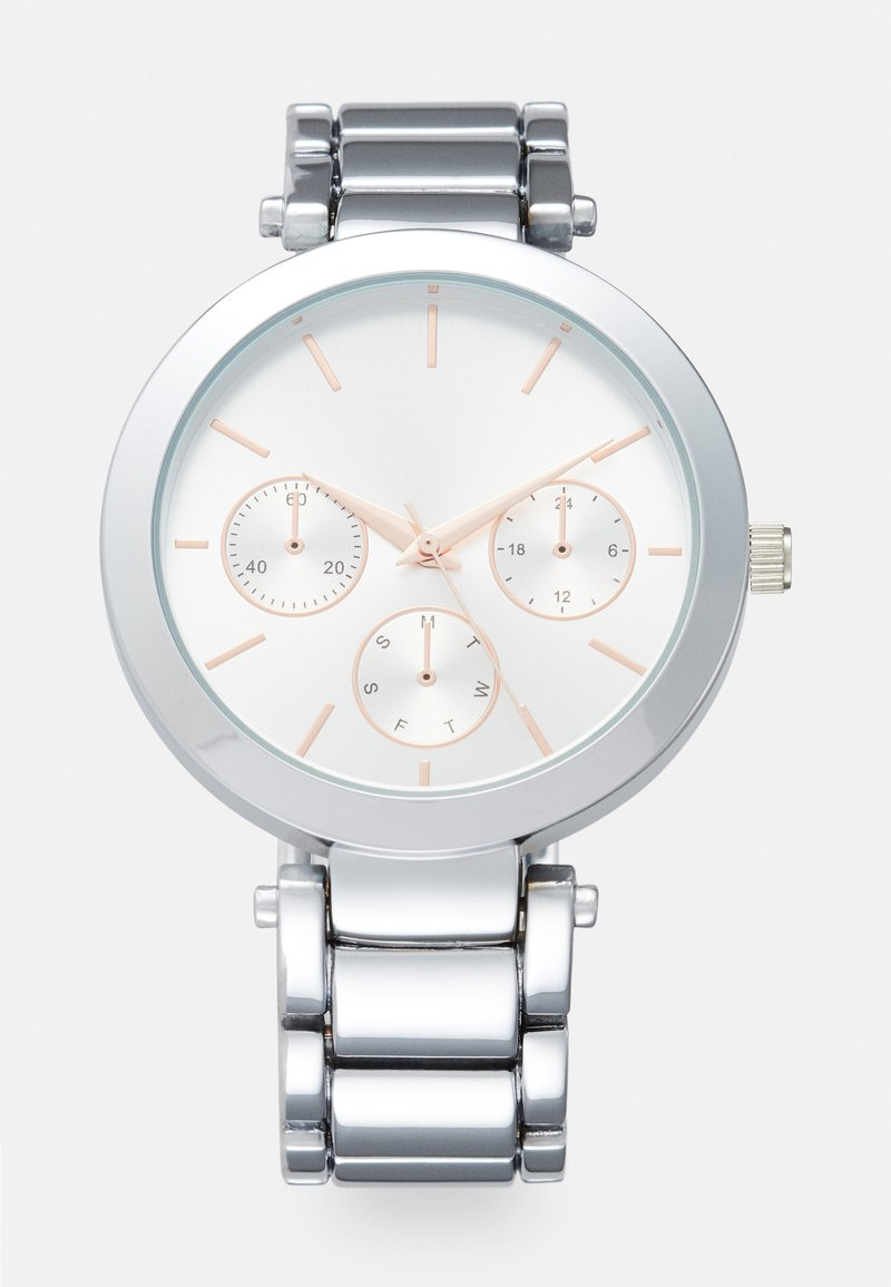 Anna Field - Chronograph watch - silver/rose gold-coloured