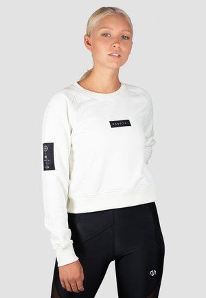 Sweatshirt - cremeweiß